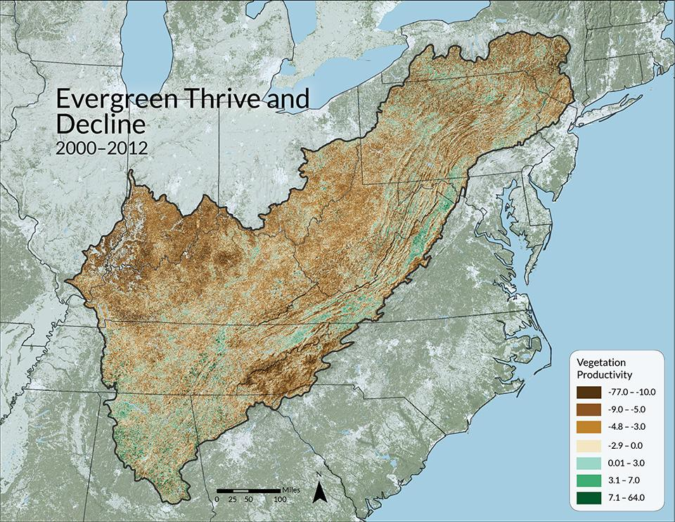 ForWarn, USDA Forest Service Eastern Forest Environmental Threat Assessment Center, accessed 2015.