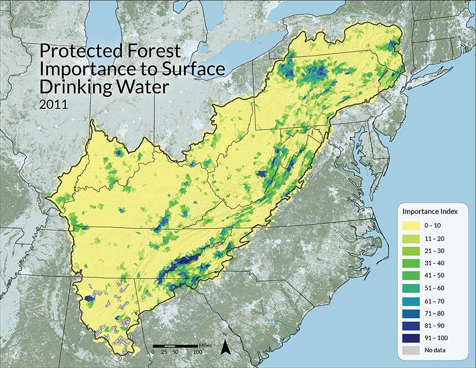 USDA Forest Service, Forests to Faucets, 2011