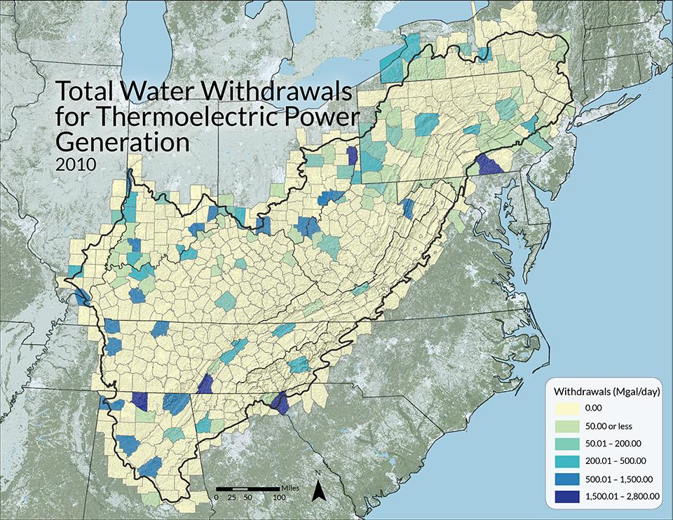 USGS National Water Use Program, 2010